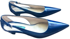Prada Cobalt Blue Pumps