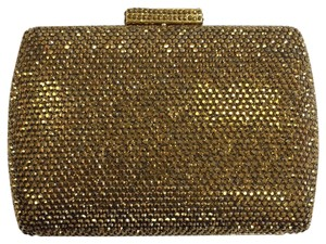 Serpui Evening Crystal Formal Formal gold Clutch