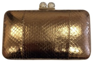 Serpui Bronze Clutch