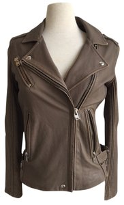 IRO Brown Leather Jacket