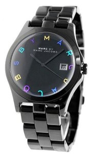 Marc Jacobs Marc Jacobs Black Stainless Henry MBM8601 Watch