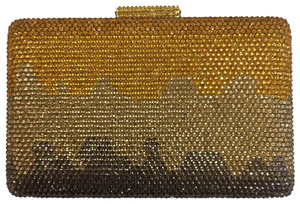 Serpui Evening Evening Formal Gold Multi Clutch