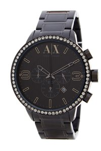 A|X Armani Exchange Black Stainless Chronograph AX1271 Men's Watch