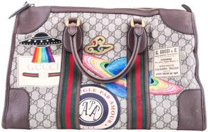 Gucci Leather Supreme Multicolor Travel Bag
