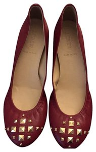 J.Crew Moroccan Red Flats