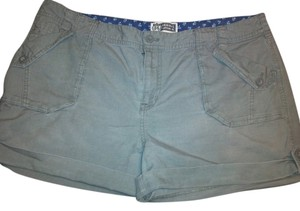 Route 66 Cuffed Shorts Moss
