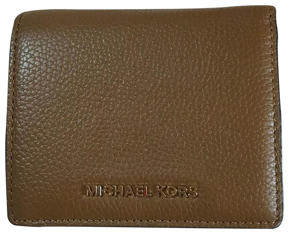 e628885f76c3 Michael Kors Luggage Brown Carryall Mercer Card Case Wallet - Tradesy