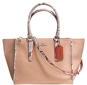 Coach New With Tags Satchel in NUDE PINK