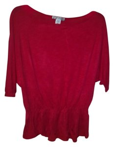 Claudia Richard Top Red