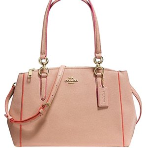 COACH New With Tags Sale Satchel in NUDE PINK