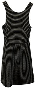 Madewell Pockets Pinstripe Cotton Dress