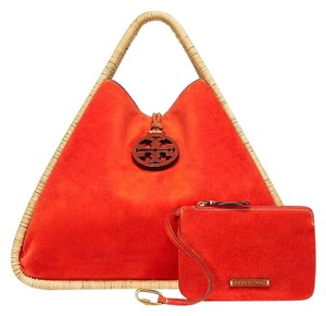Tory Burch Tote in Natural/Orange