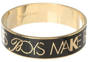 Kate Spade KATE SPADE Boys Make Passes Girls in Glasses Bracelet GEEK CHIC Dorothy Parker Wink