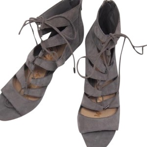 Sam Edelman grey Wedges