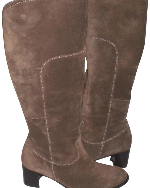 Item - Brown Paul-green-munchen-brown-suede-leather-boots-size-5-b- Boots/Booties Size US 5 Regular (M, B)