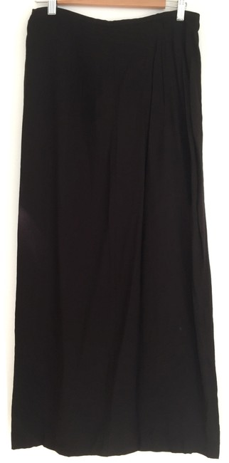 Anthropologie Maxi Skirt black Image 1