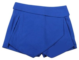 IMC New Summer Asymmetrical Skort Blue
