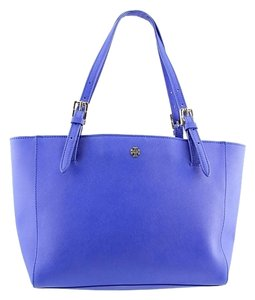 Tory Burch Blue Blue Tote in Jelly Blue