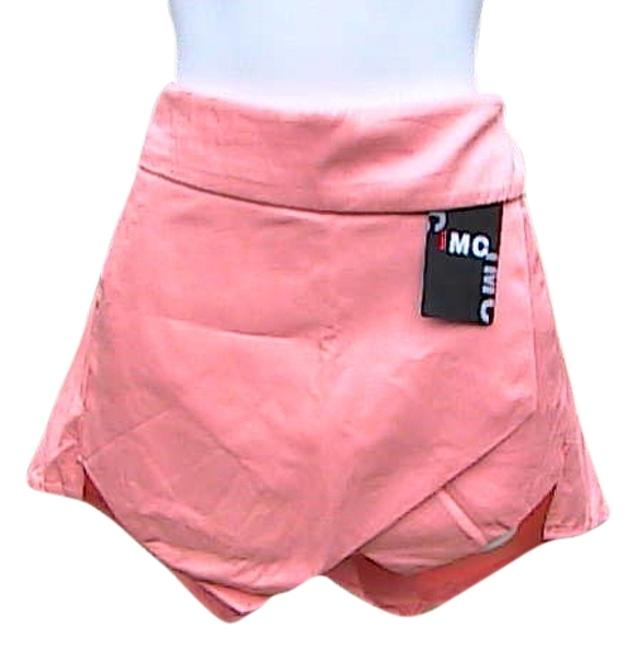 IMC New Summer Asymmetrical Skort Orange