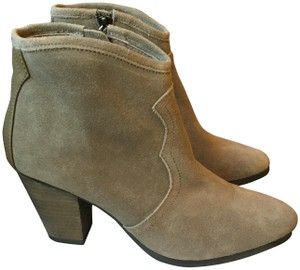 Chelsea Crew Taupe-suede Boots
