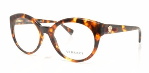 Versace New Versace Eyeglasses VE3217 5148 Tortoise Frame Demo Optical Lens