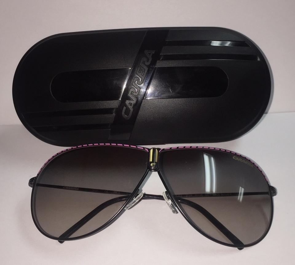 6b0e76e66411 Carrera Black and Pink 217v/K 66-05 / 135 - Made In Italy Sunglasses ...