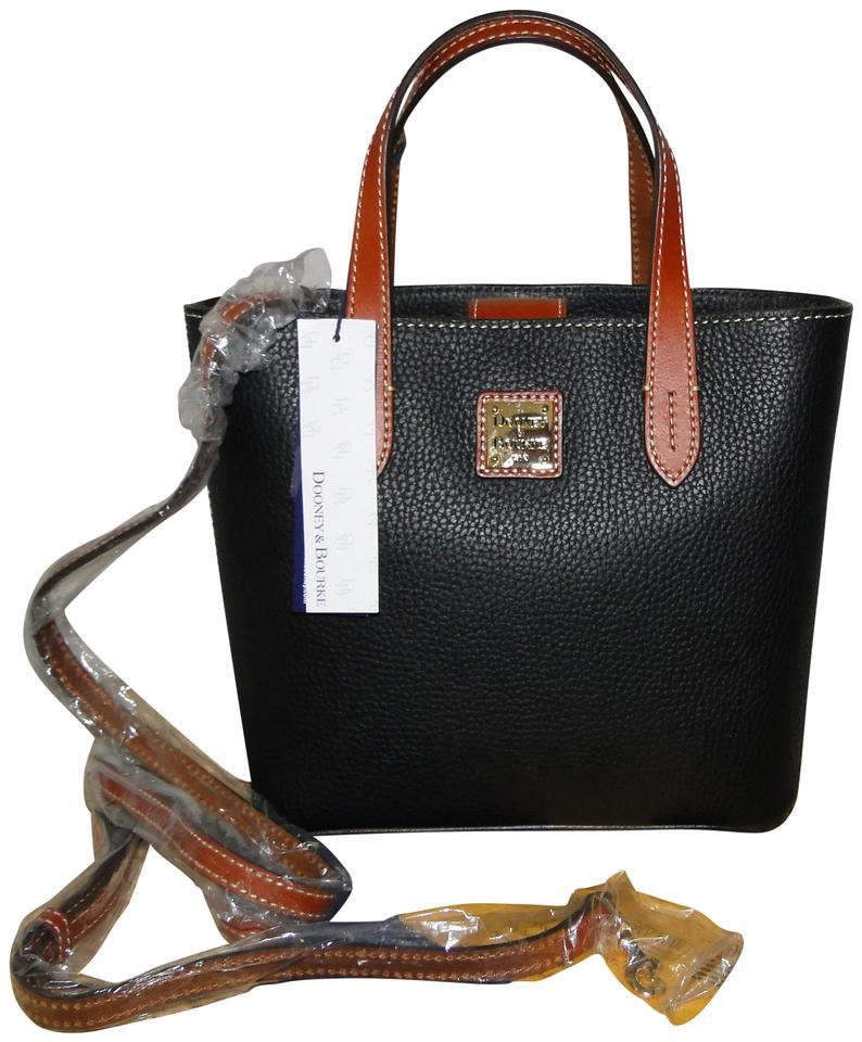 cce5f6d7f Dooney & Bourke Mini Waverly Crossbody Leather Tote in Black Image 0 ...