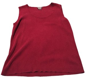 Ann Taylor Shell Shell Shell Top Red