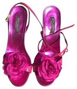Betsey Johnson Hot Pink Sandals