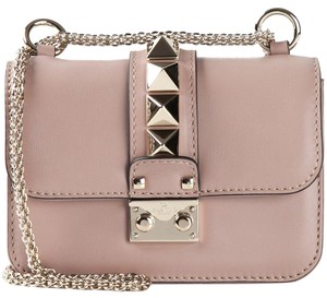 Valentino Rockstud Glam Lock Studded Cross Body Bag