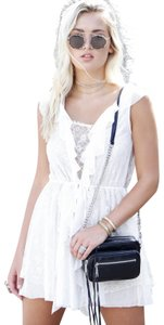 For Love & Lemons short dress white And Lace Mini Lace on Tradesy