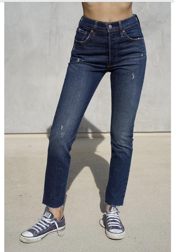 a43c44bfb21e Levi's Song Forever Medium Wash 501 Stretch X 30 Skinny Jeans Size ...
