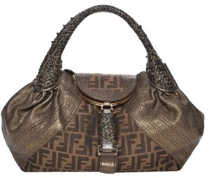 80e7b91f2ef0 Fendi Zucca Spy Bags - Up to 70% off at Tradesy