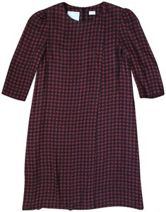 Kiton Houndstooth Runway Itlaly Shift Career Dress