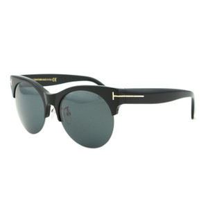 Tom Ford New Tom Ford Ft-9350 Semi-rimless T Logo Round Sunglasses