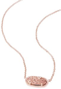 Kendra Scott Brand New Kendra Scott Elisa Necklace in Rose Gold Drusy
