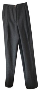 Valentino Trouser Pants Grey wool