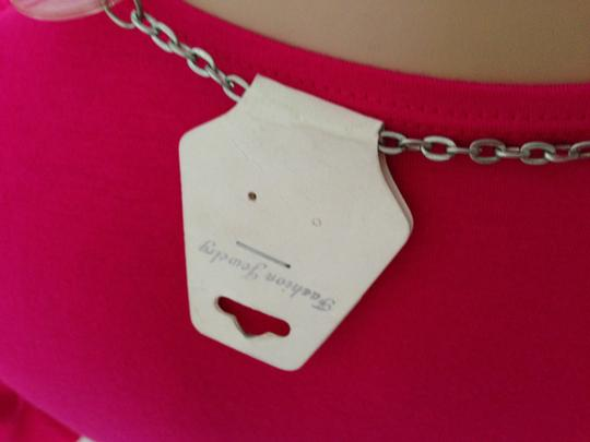 Other Pastel Pink CIrcle Necklace