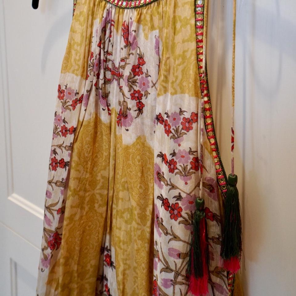 6158859c40a8 Yellow Maxi Dress by Bhanuni By Jyoti, Anthropologie Image 4. 12345