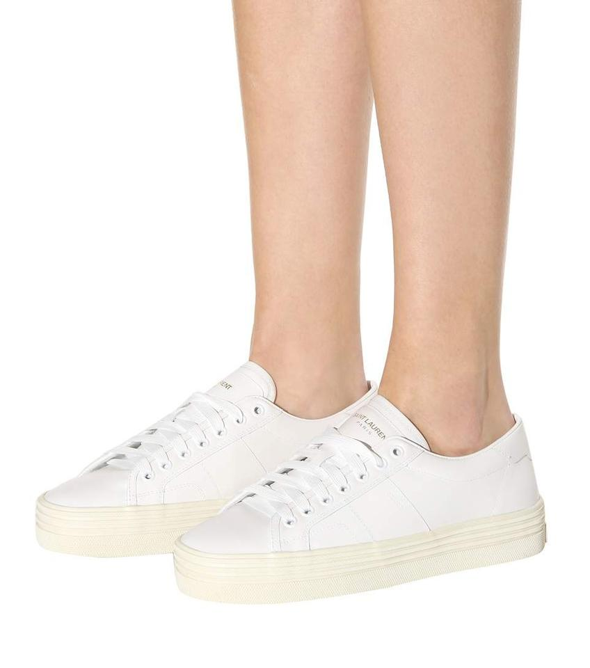 2adc05bf65ac Saint Laurent Off White Ysl Signature Court Classic Double Sole ...