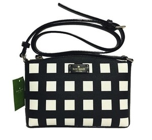 Kate Spade Millie Black And White Purse Cross Body Bag