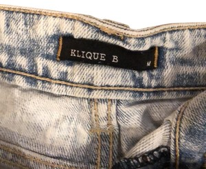 Klique B Cut Off Shorts denim