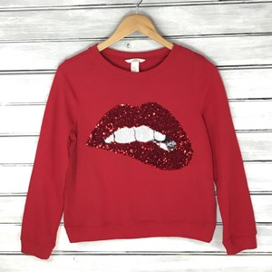 H&M Embellished Sequin Limited Edition Crewneck Sparkly Sweater