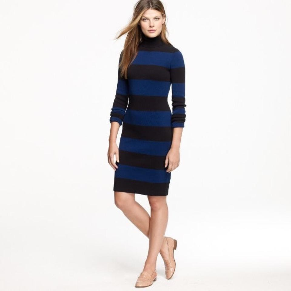 824e82b50c7 J.Crew short dress Multi-Color Sweater Knit Long Sleeve Turtleneck Stretch  on Tradesy ...