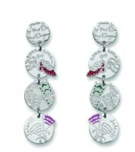 TOUS Folklore Earrings Eugenia by TOUS