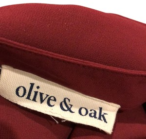 Olive + Oak Top burgundy
