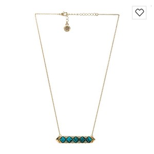 House of Harlow 1960 Mykonos Bar Necklace