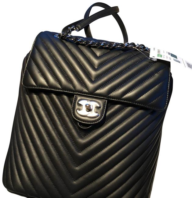 Item - Larger Size Lambskin Leather Backpack