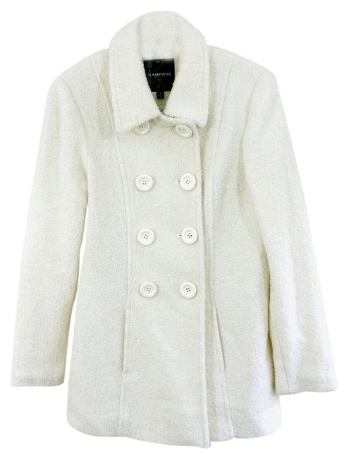 Rampage Boucle Three-quarter Pea Coat