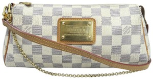 Louis Vuitton Lv Damier Azur Eva Canvas Cross Body Bag